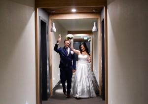 Mariés couloir